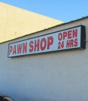 Find a pawnshop near you that will take your car title instead of the actual vehicle.