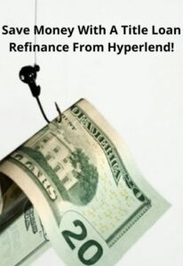 By negotiating a new payoff amount and APR you can save money with a refi on your title loan.